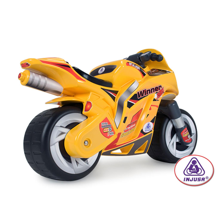 Afbeelding van Loopfiguur Motor Injusa Speed Bike Rood
