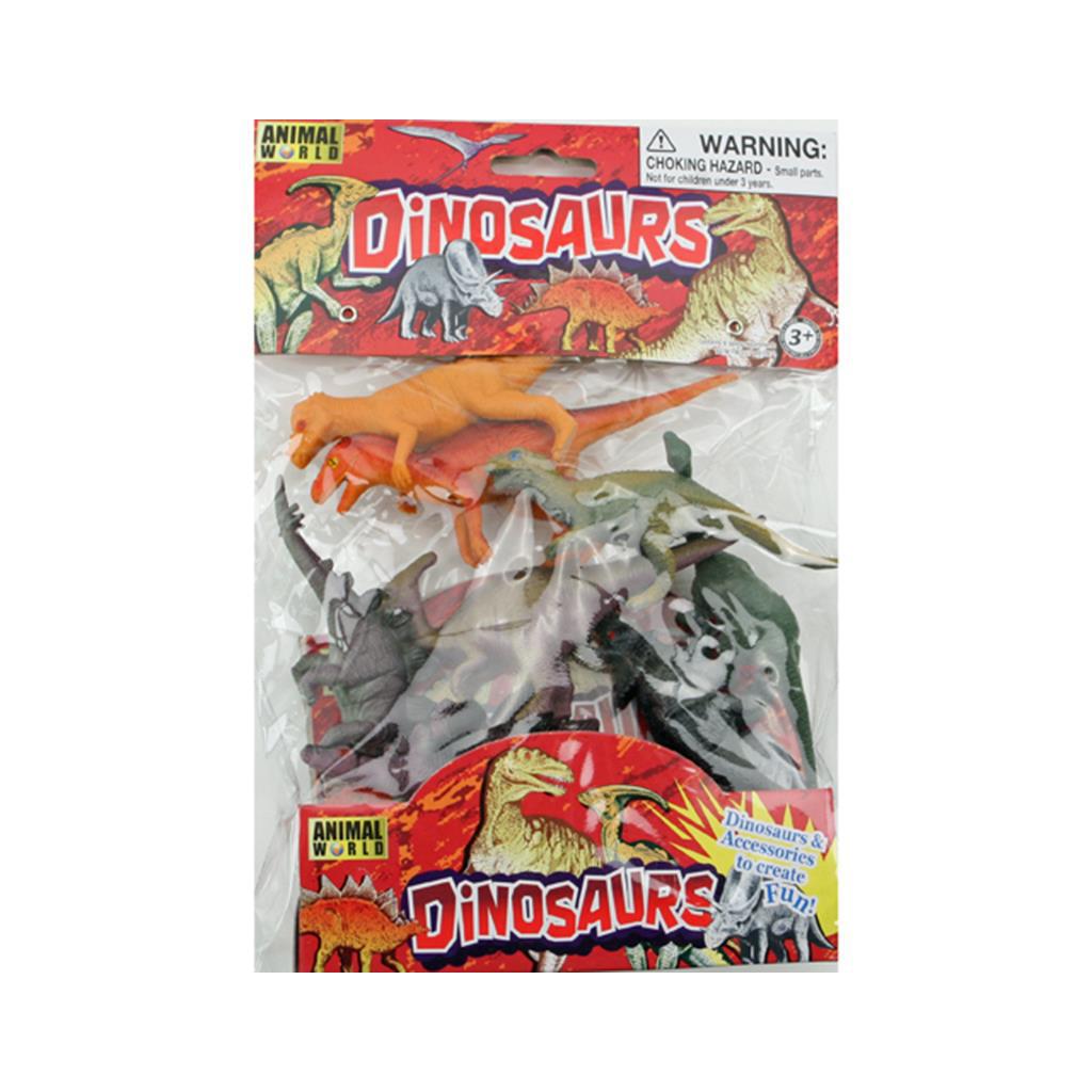 Afbeelding van Dino In Zak 8 Stuks