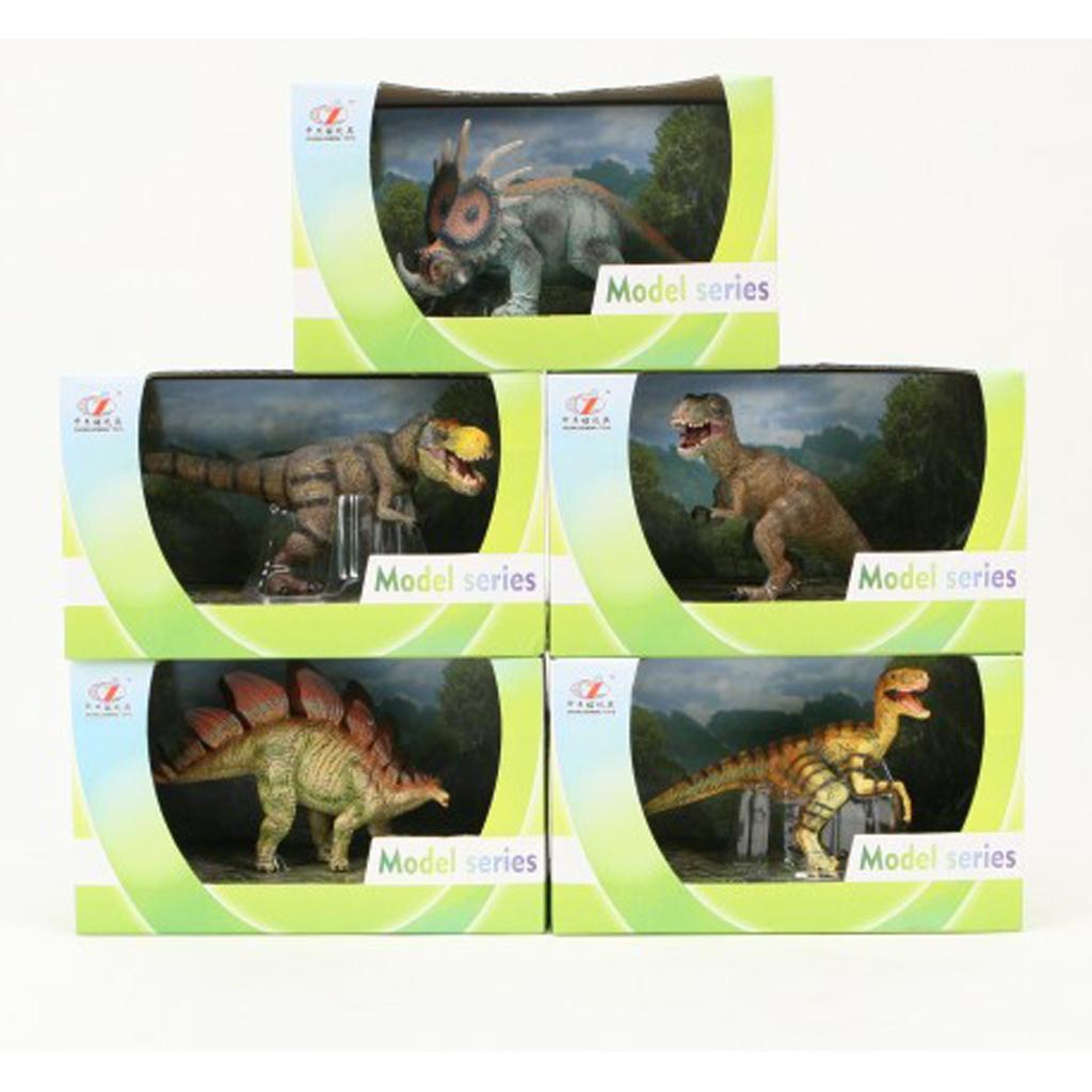 Afbeelding van Dino Figuren 5 Assorti
