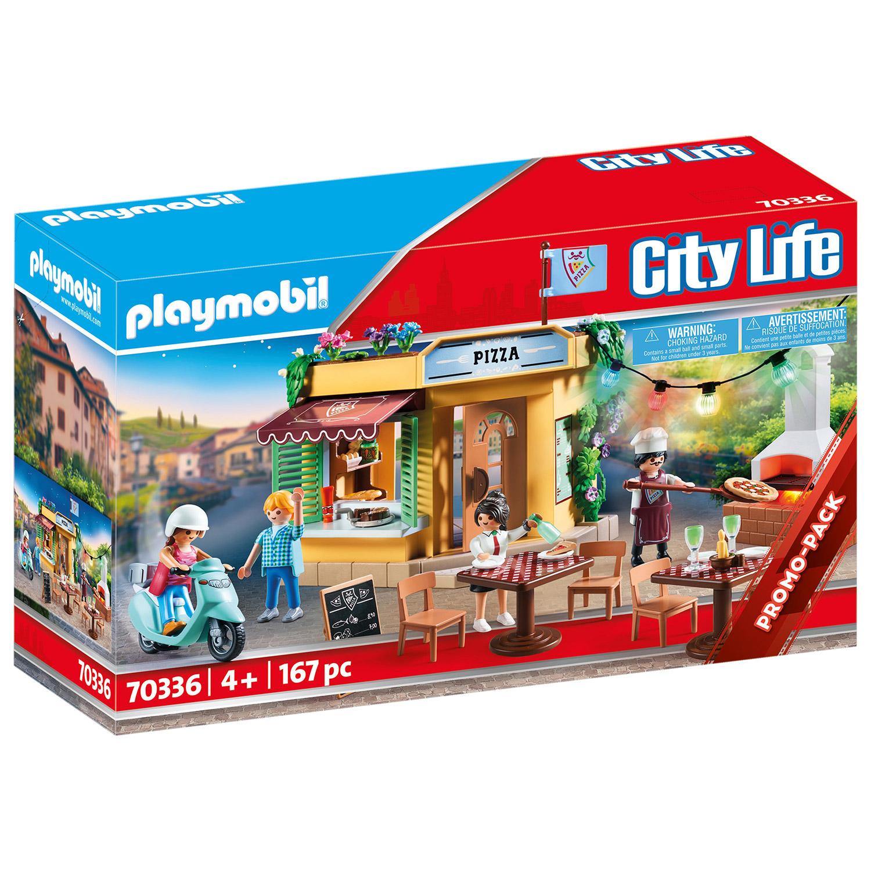 Afbeelding van Playmobil 0336 Pizzaria Met Terras