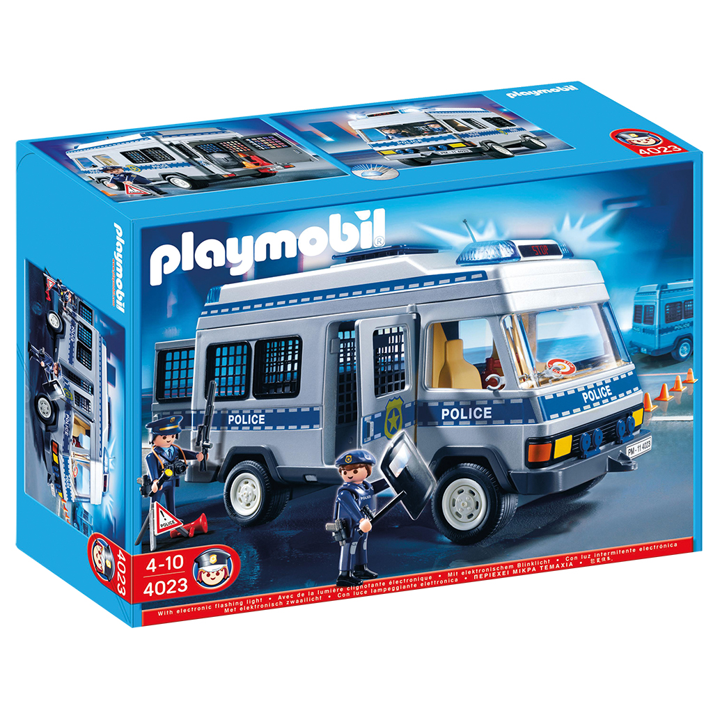 Afbeelding van Playmobil 4023 Police Transport Vehicle