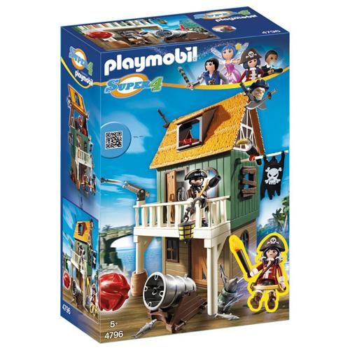 Afbeelding van Playmobil 4796 Super 4 Camouflage Pirate Fort