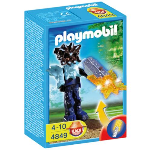 Afbeelding van Playmobil 4849 Tempelwachter Oranje
