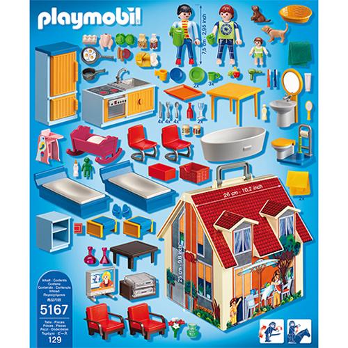 Afbeelding van Playmobil 5167 Meeneem Poppenhuis