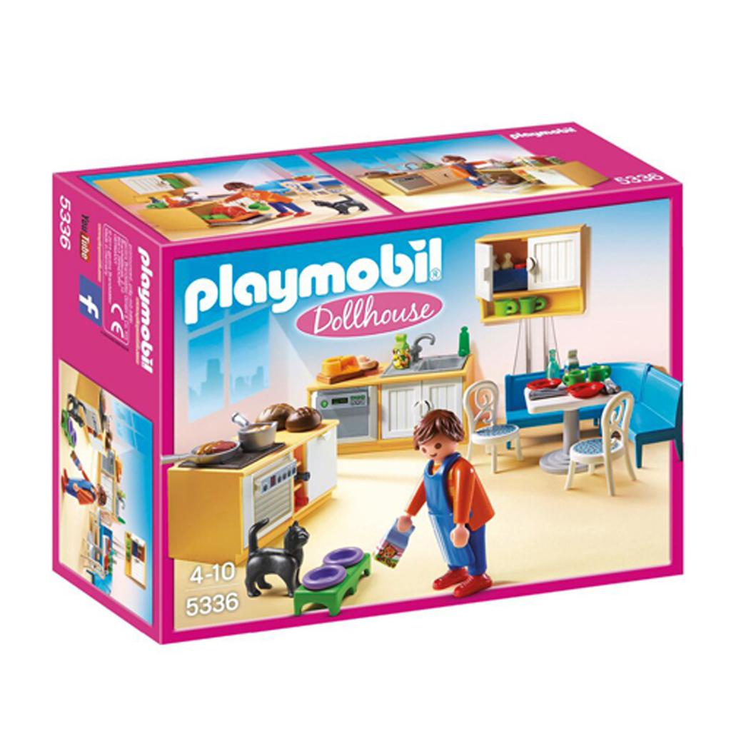 Afbeelding van Playmobil 5336 Keuken Met Zithoek