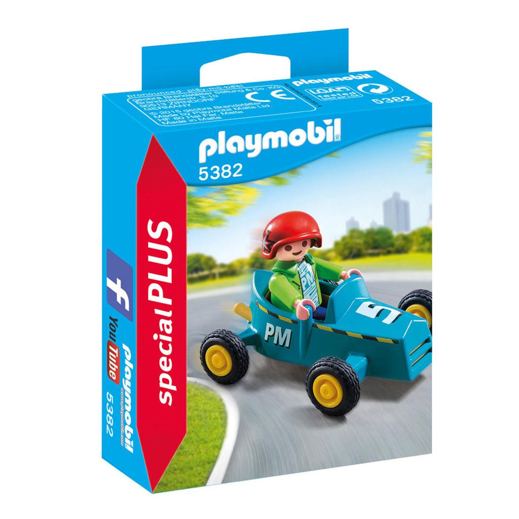 Afbeelding van Playmobil 5382 Jongen Met Kart