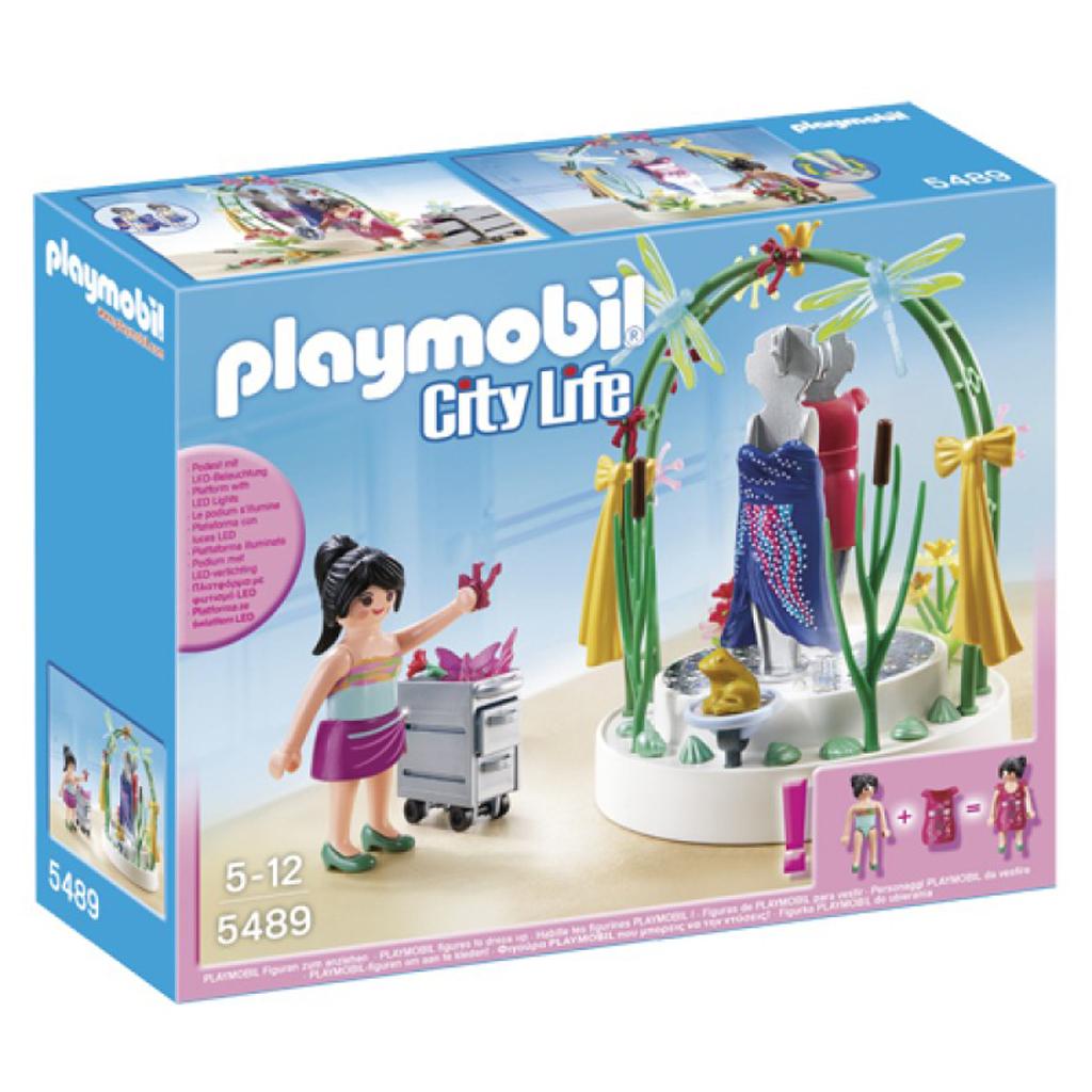 Afbeelding van Playmobil 5489 Styliste Met Verlichte Etalage