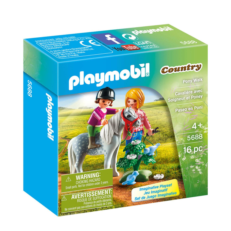Afbeelding van Playmobil 5688 Ponyrijden Met Mama