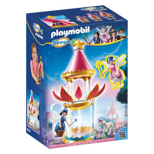 Afbeelding van Playmobil 6688 Super 4 Musical Flower Tower Twinkle And Donella