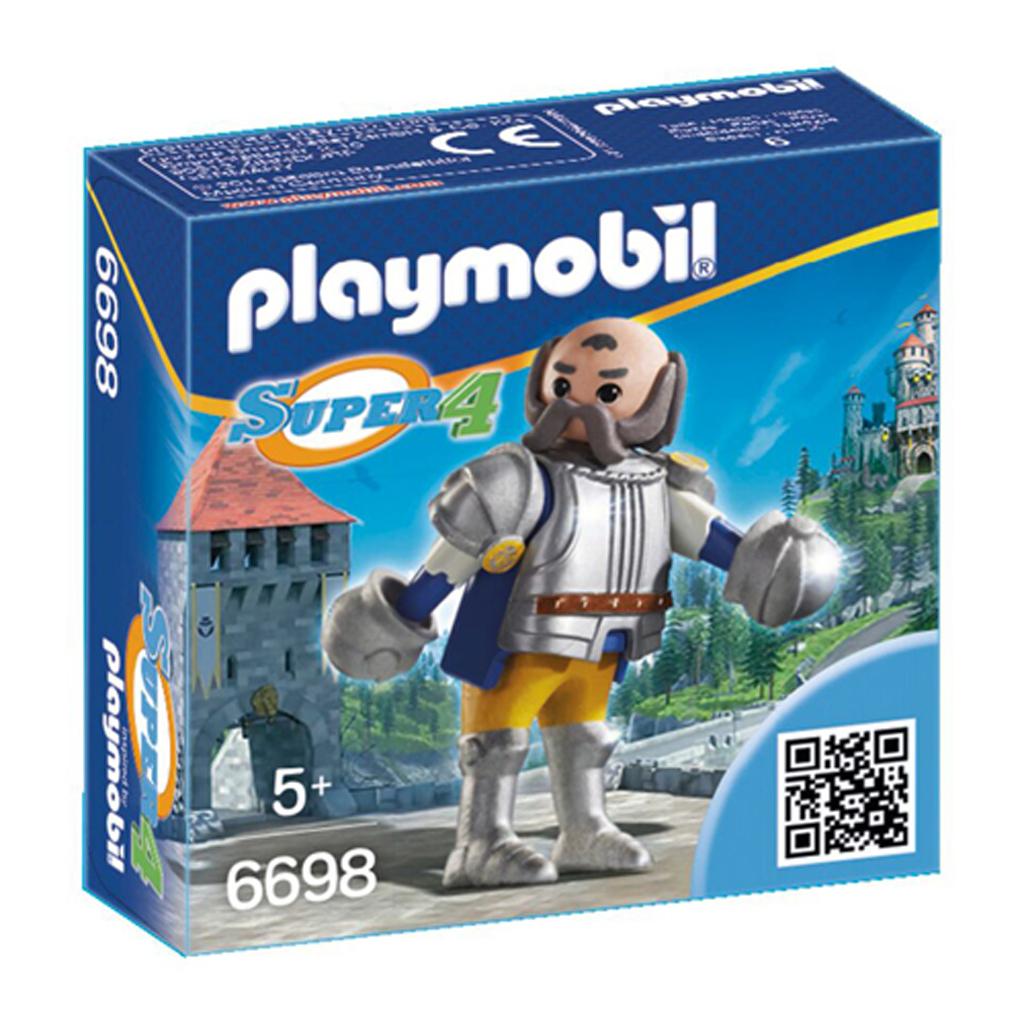 Afbeelding van Playmobil 6698 Super 4 Royal Guard Sir Ulf