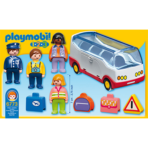 Afbeelding van Playmobil 123 6773 Autobus