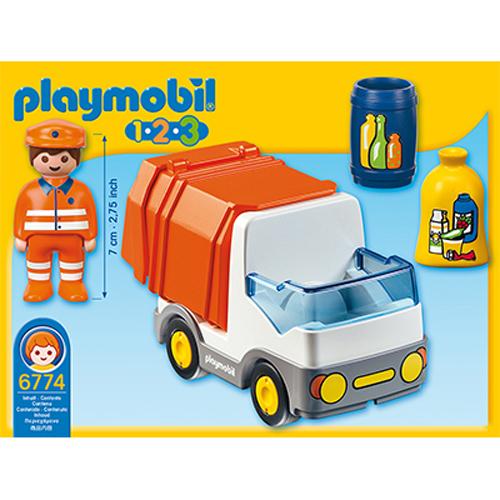Afbeelding van Playmobil 123 6774 Vuilniswagen