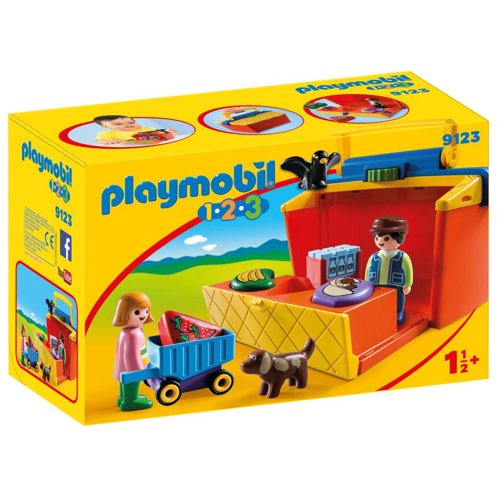 Afbeelding van Playmobil 123 Marktkraam