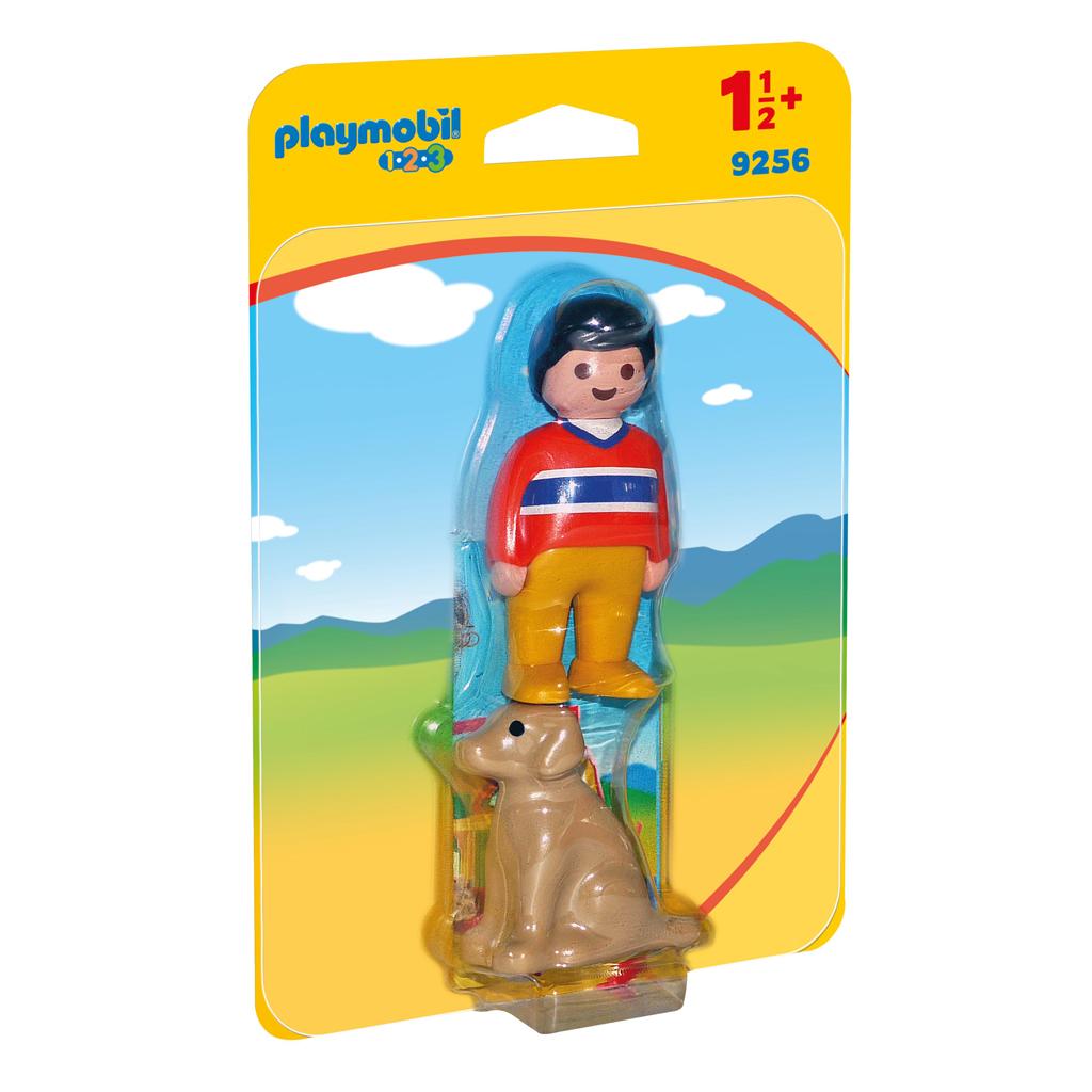Afbeelding van Playmobil 123 Man Met Hond
