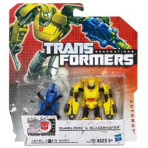 Afbeelding van Actiefiguur Transformers Bumblebee & Stinger Battle
