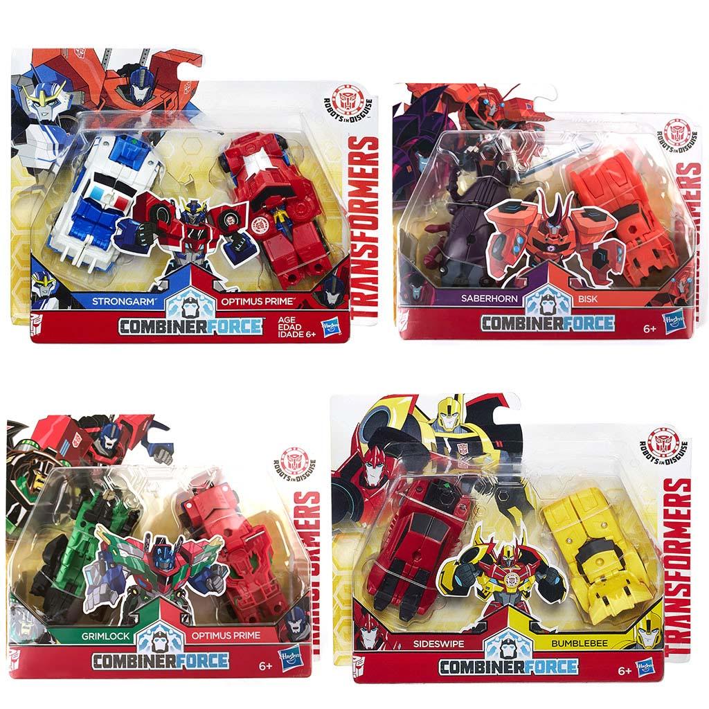 Afbeelding van Actiefiguur Transformers RID Crash Combiners Assorti