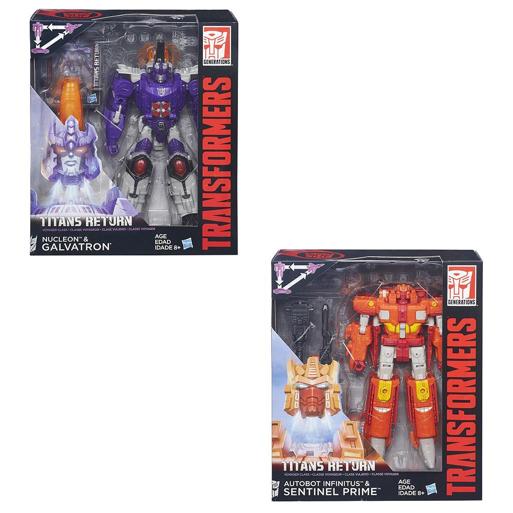 Afbeelding van Actiefiguur Transformers Generations Titan Wars Assortiment
