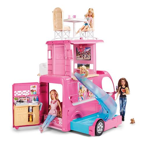 Afbeelding van Barbie Camper