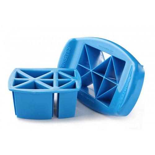 Afbeelding van FunBites Blauw Driehoeken