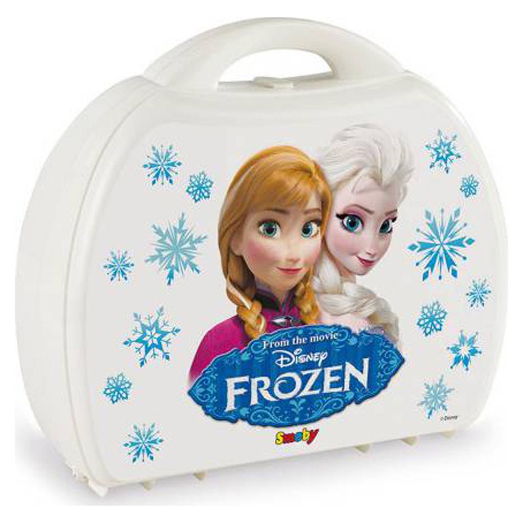 Afbeelding van Frozen Servies In Koffer Assorti