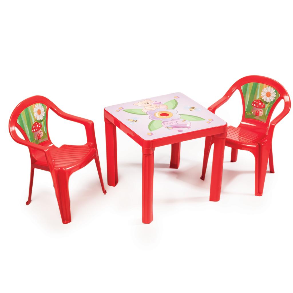 Afbeelding van Kinderstoel 51 X 37 X 30 Cm Rood