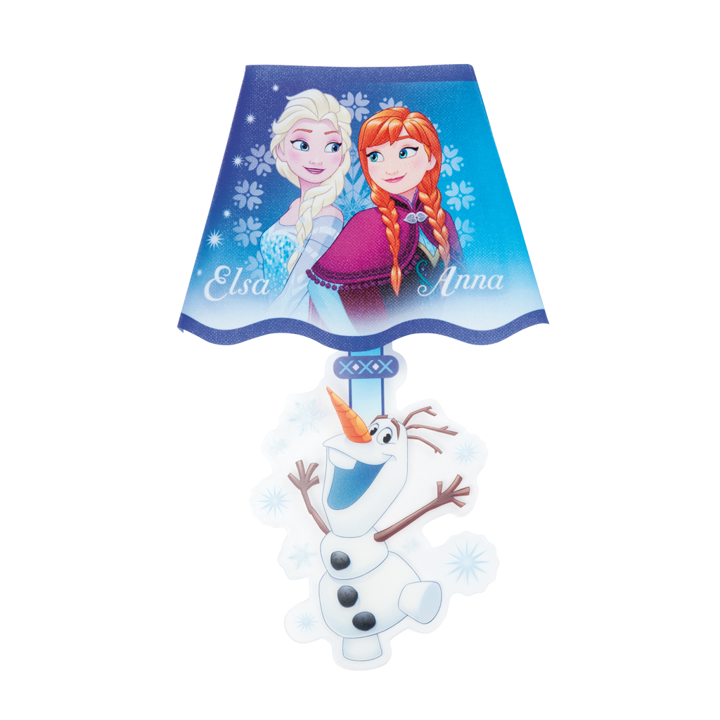 Afbeelding van Muursticker Met LED Frozen