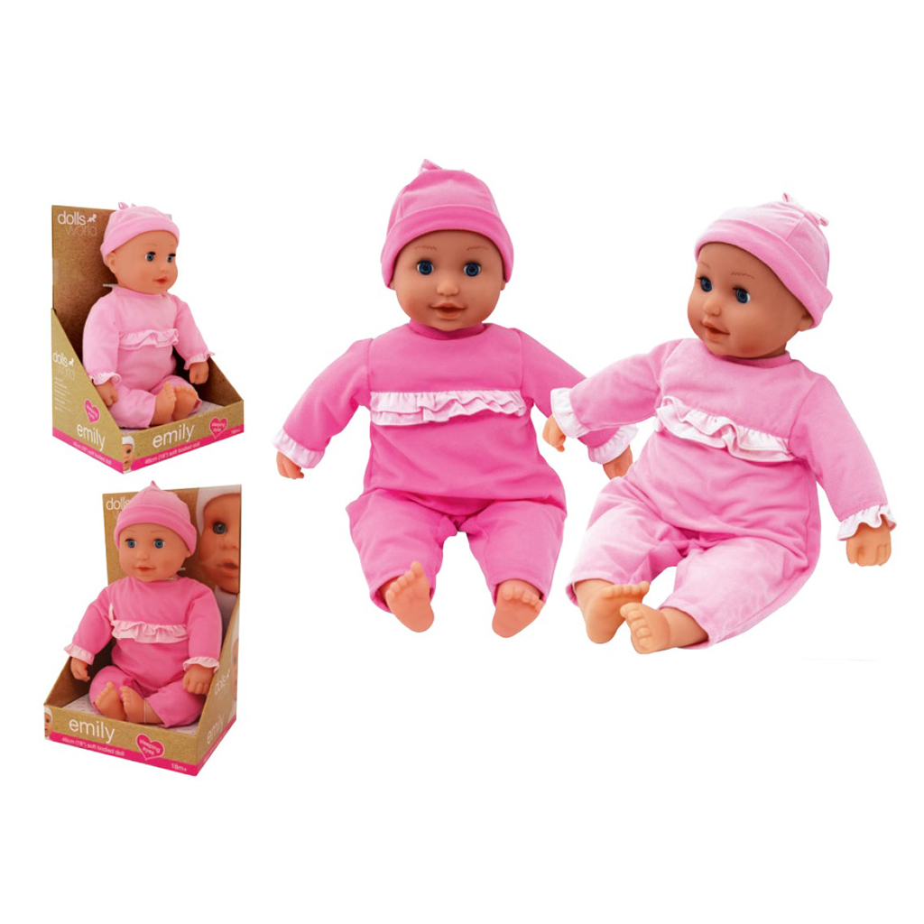Afbeelding van Pop Soft Dolls World Emily Assorti