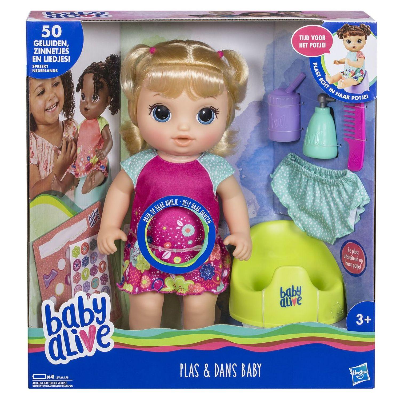 Afbeelding van Baby Alive Plas & Dans Baby Blond