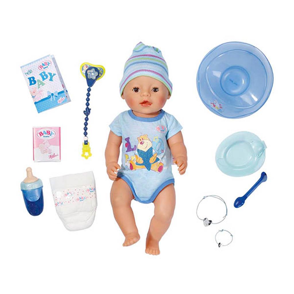 Afbeelding van Interactieve Pop Baby Born Jongen