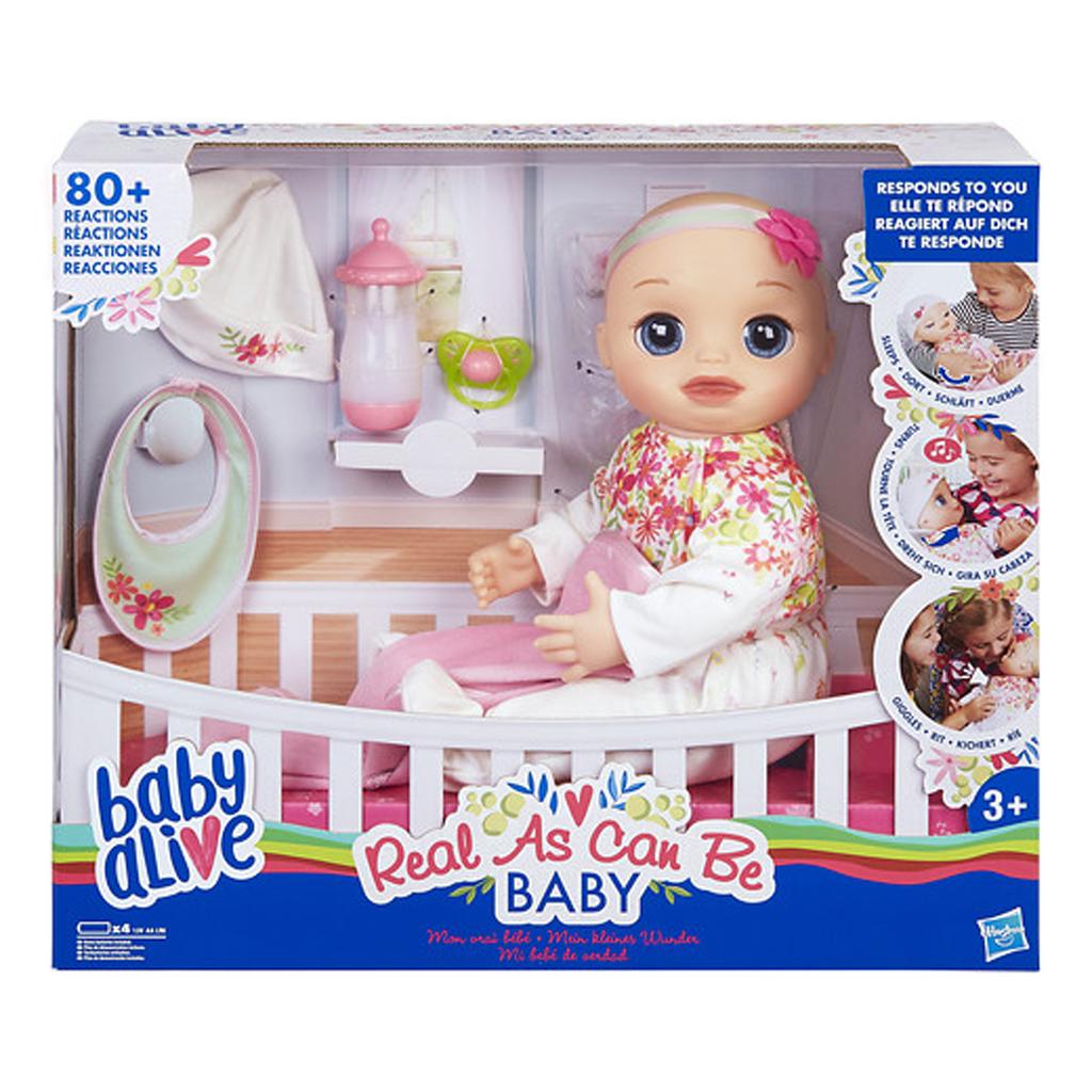Afbeelding van Baby Alive Levensecht Baby