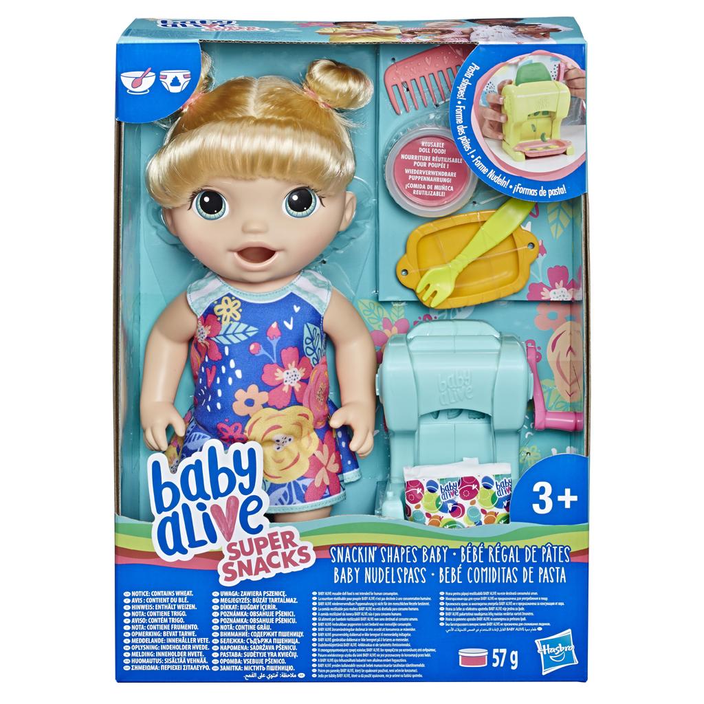 Afbeelding van Baby Alive Snackin Shapes Baby Blond
