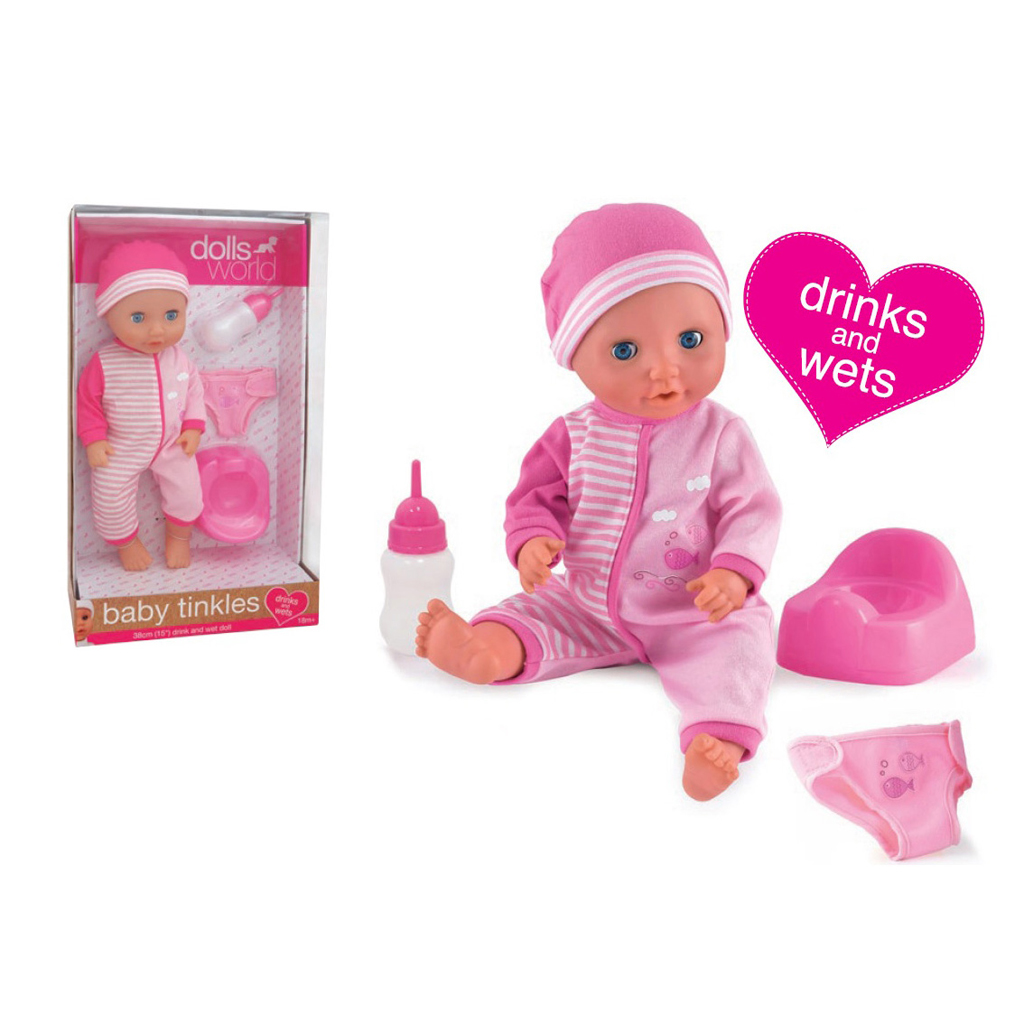 Afbeelding van Pop Dolls World Baby Tinkles