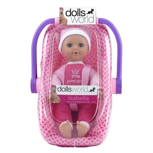 Afbeelding van Pop Dolls World Isabella Met Draagstoel