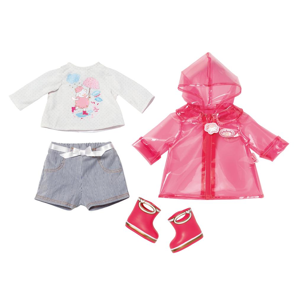 Afbeelding van Baby Annabell Deluxe Regenkleding Set Assorti