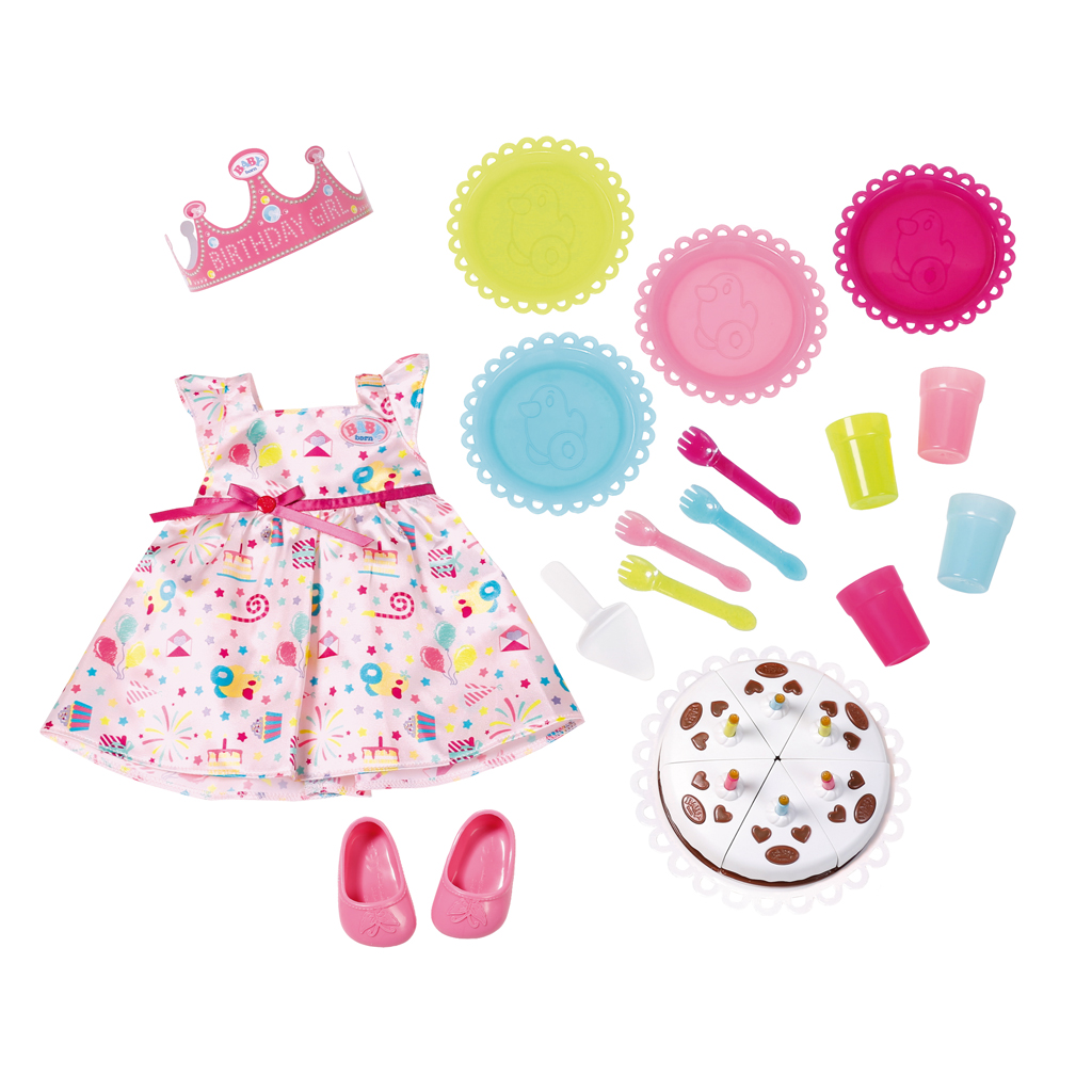Afbeelding van Baby Born Deluxe Party Set