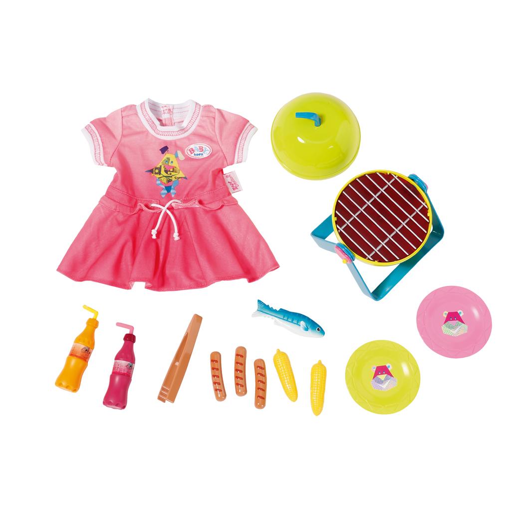 Afbeelding van Baby Born Play & Fun Barbecue Set