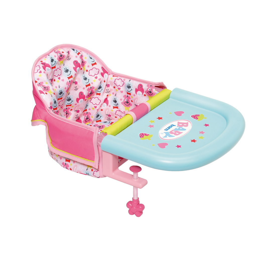 Afbeelding van Baby Born Babystoel Voor Aan Tafel