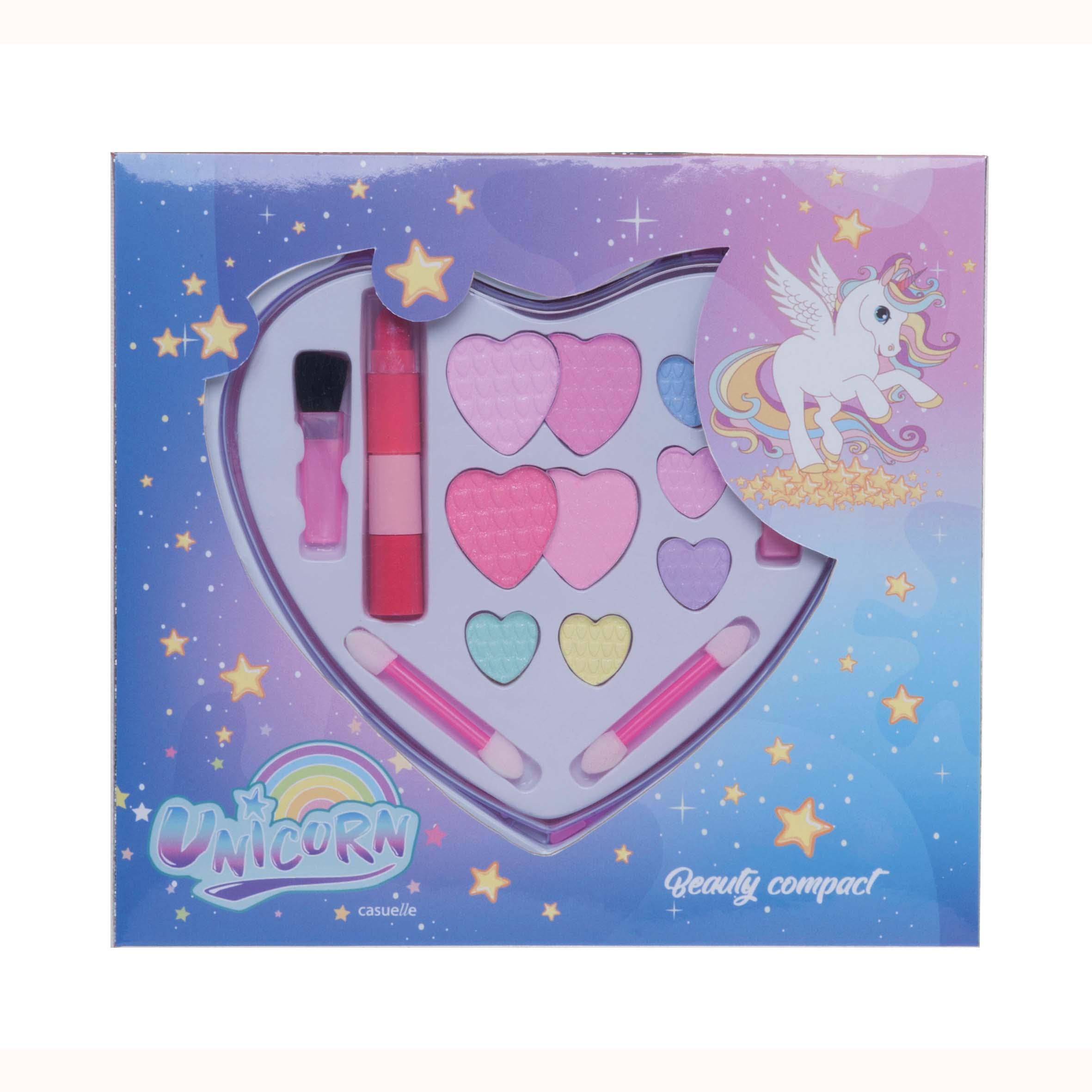 Afbeelding van Casuelle Make-Up Set Unicorn Hartvorm