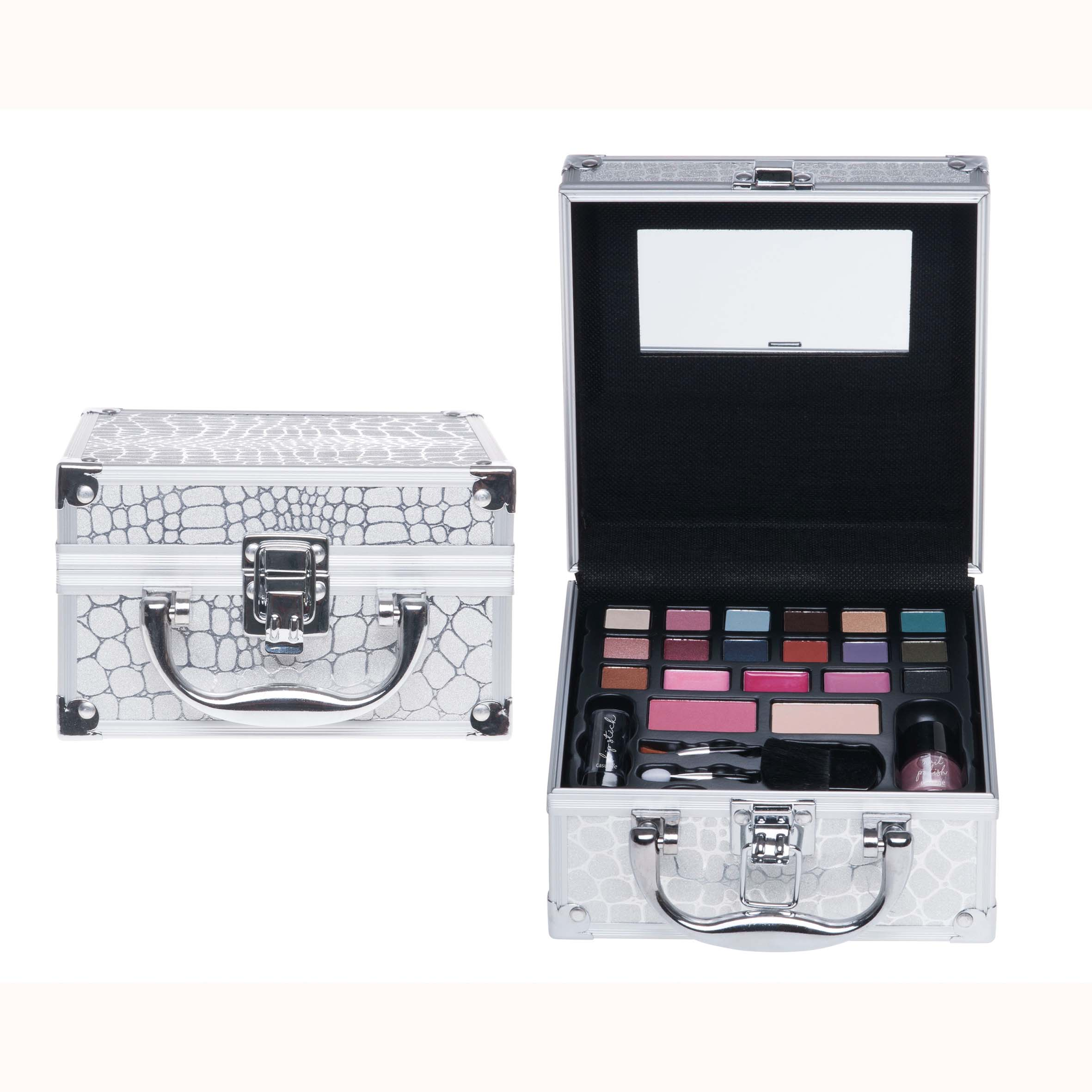 Afbeelding van Casuelle Make-Up Koffer Aluminium Mini