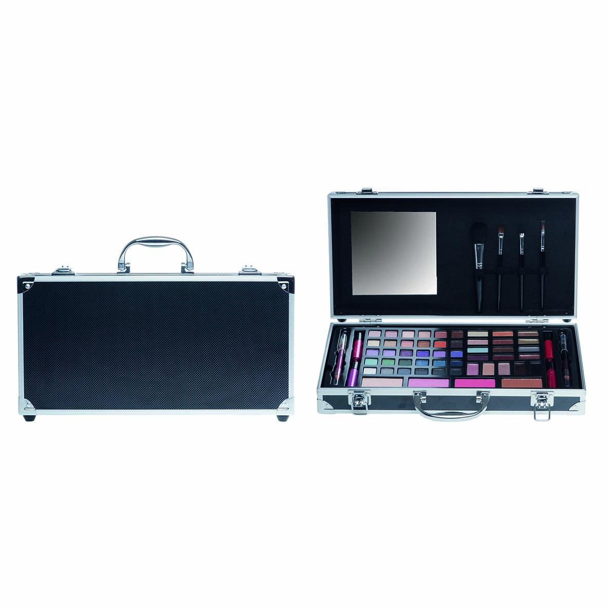 Afbeelding van Casuelle Make-up Koffer Zwart Breed