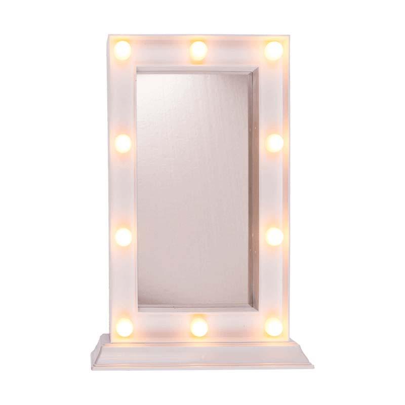 Afbeelding van Make-Up Spiegel Met Led Licht 34X23 Cm