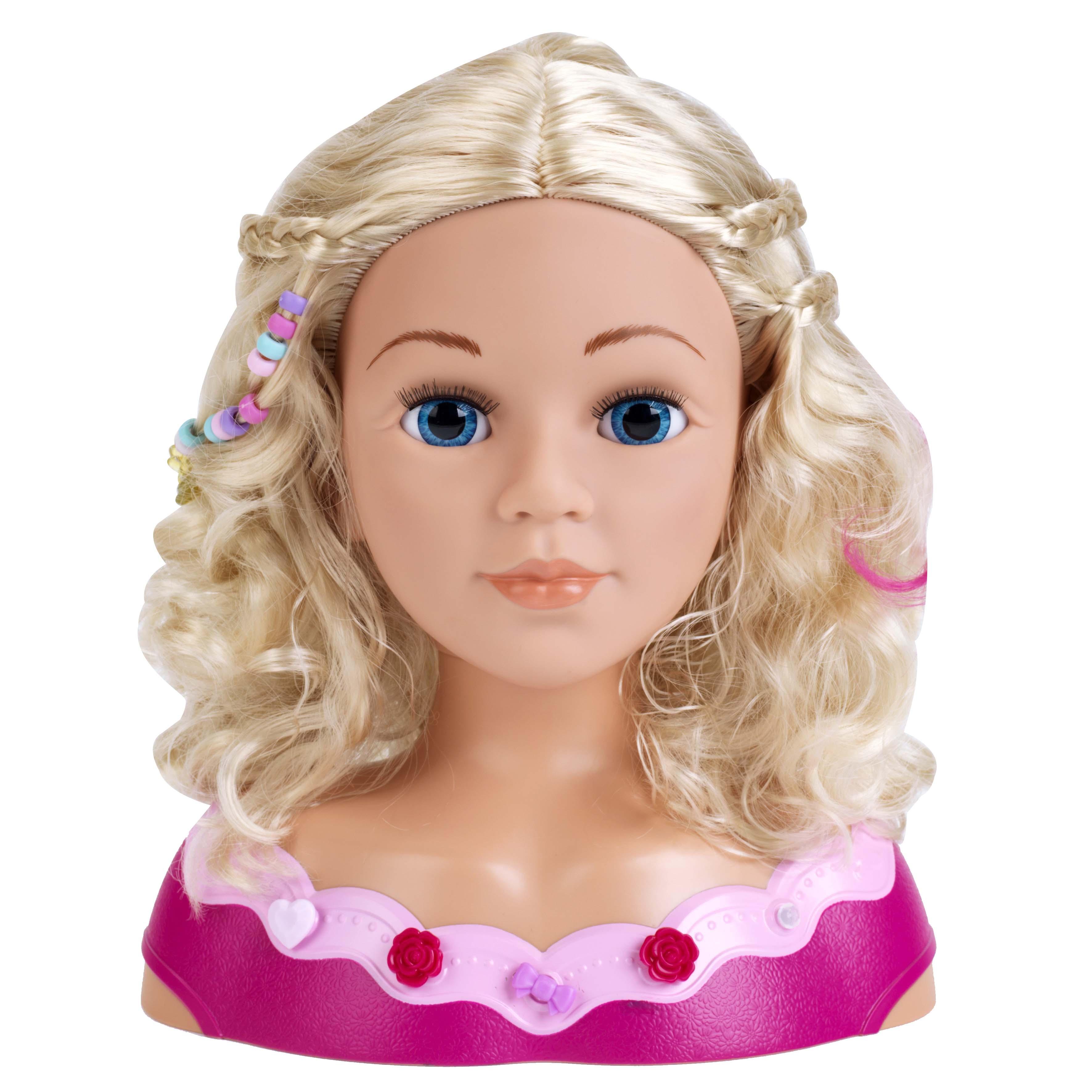 Afbeelding van Kapkop Met Make Up Princess Coralie 33 Cm