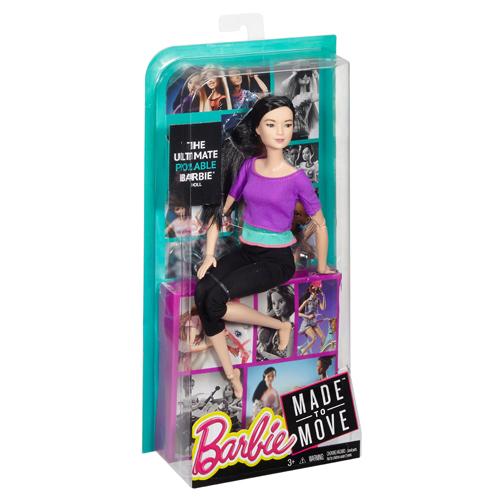 Afbeelding van Barbie Made To Move Pop (Purple Top)