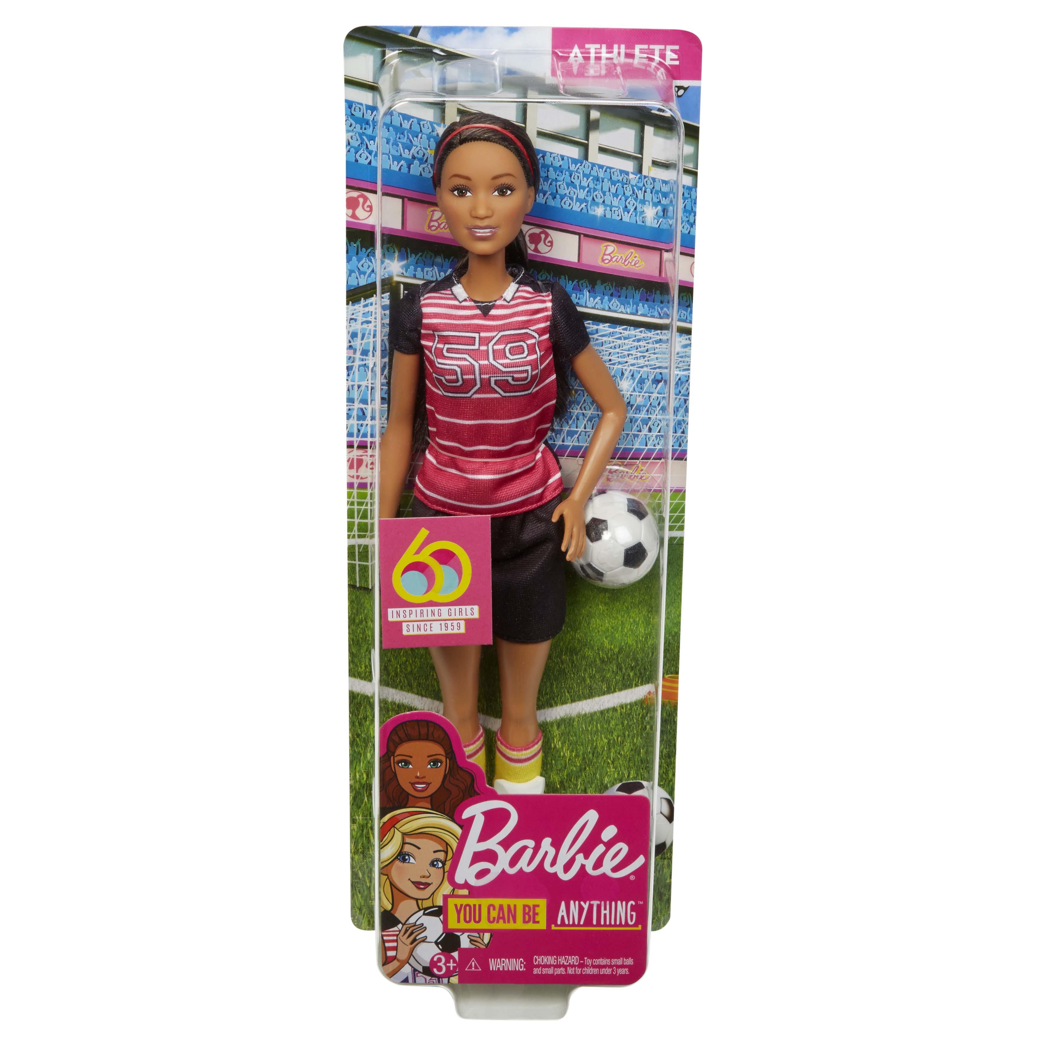 Afbeelding van Barbie 60th Anniversary Carriere Poppen Assorti