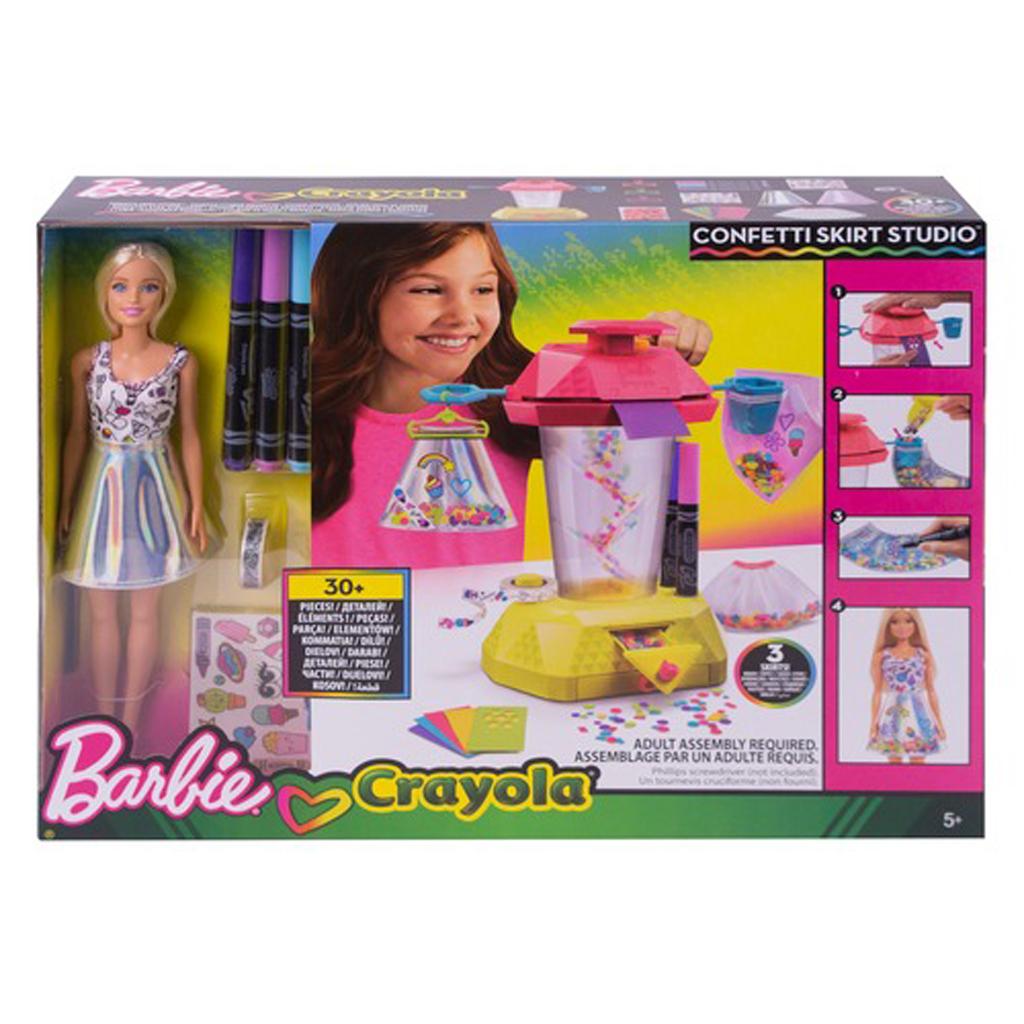 Afbeelding van Barbie Confetti Design Studio