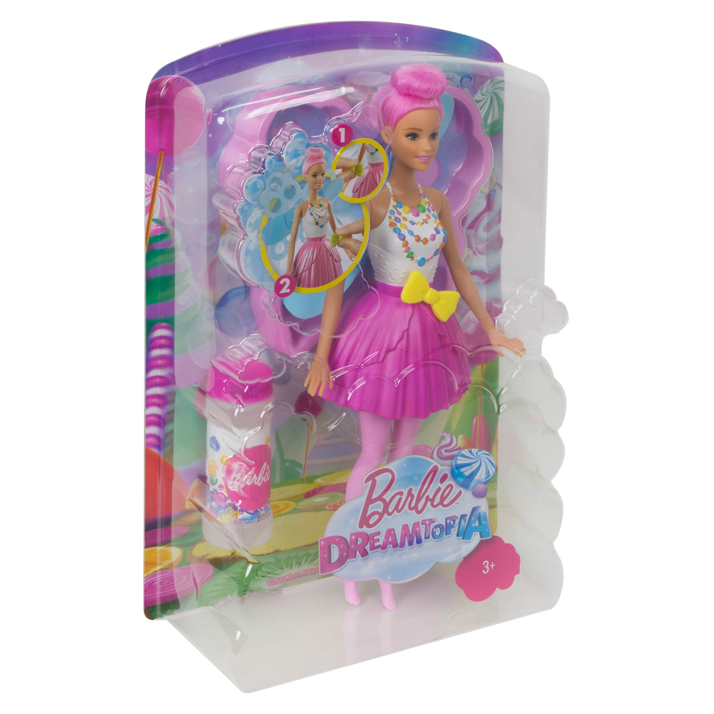Afbeelding van Barbie Dreamtopia Bubbletastic Fairy Causasian Ass