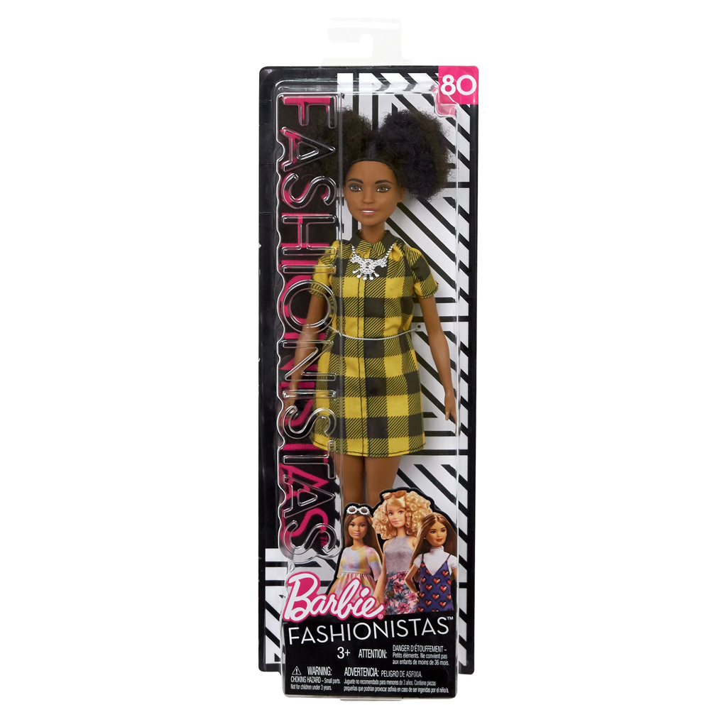 Afbeelding van Barbie Fashionistas Cheerful Check - Petite