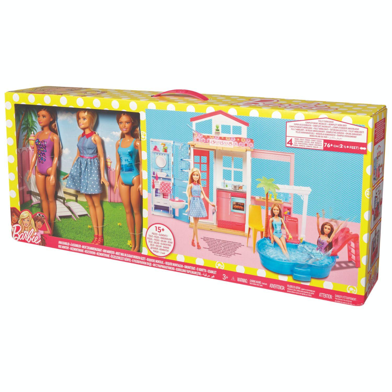Afbeelding van Barbie Big Box Pool Party