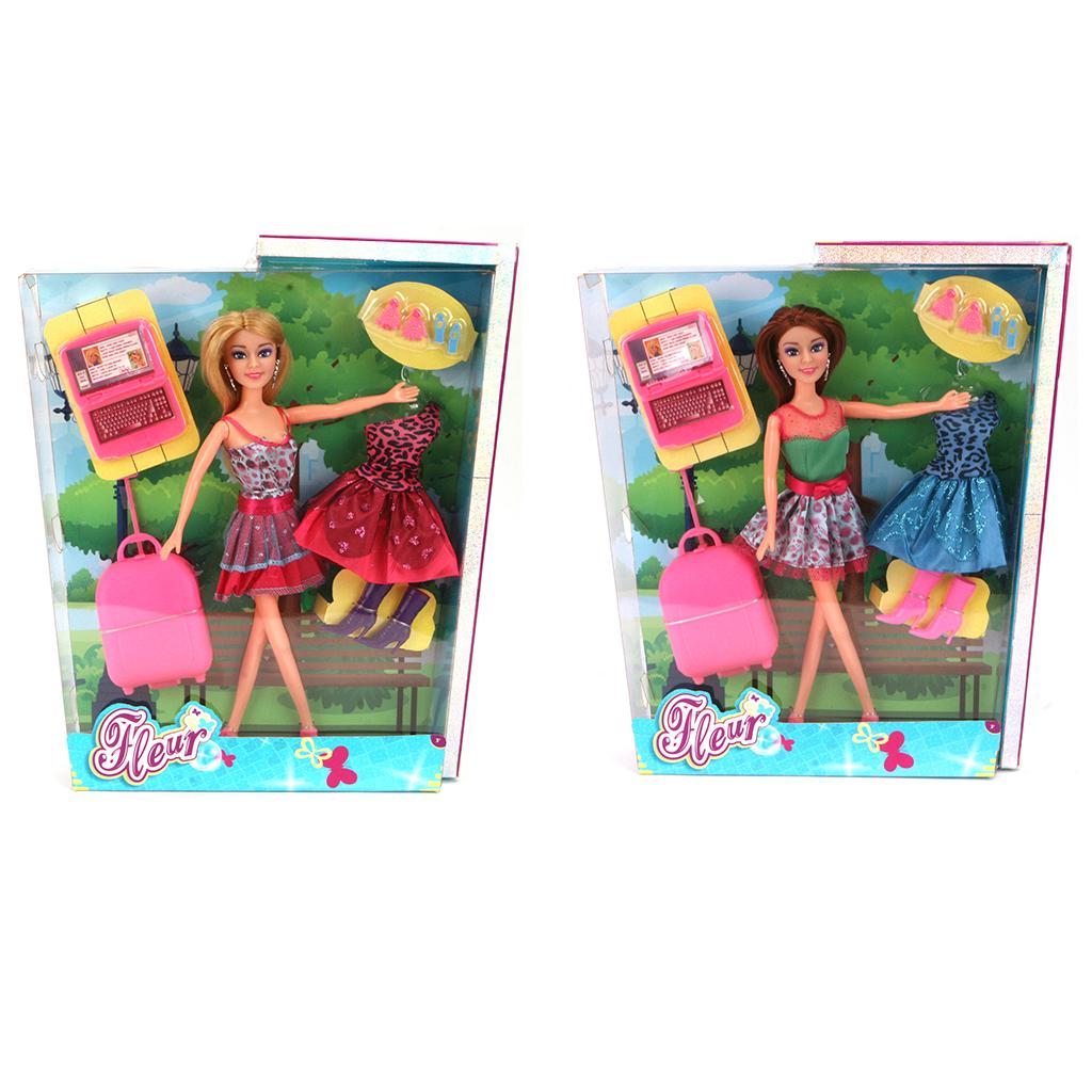 Afbeelding van Pop Fleur Fashion Set 2 Assorti