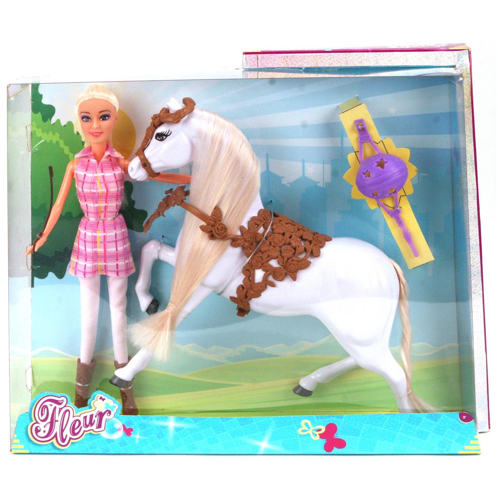 Afbeelding van Pop Fleur Paard Set